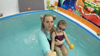 Грудничковое плавание в Краснодаре | Акварята #09