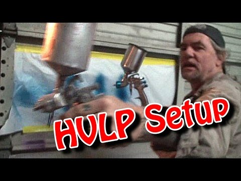 """""""How To Paint A Car""""-By Yourself-Part 13-""""HVLP Spray Gun Setup Instructions And Use"""""""