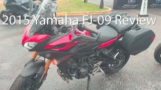 2015 Yamaha FJ09 Motorcycle Review Ride