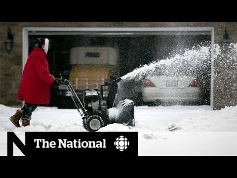 Major winter storms affecting Canadians from coast to coast