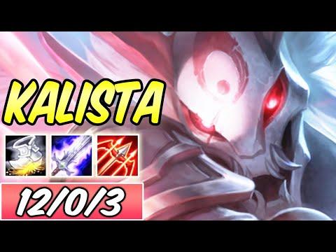 S+ HAIL OF BLADES KALISTA ADC   Best Build & Runes   League of Legends
