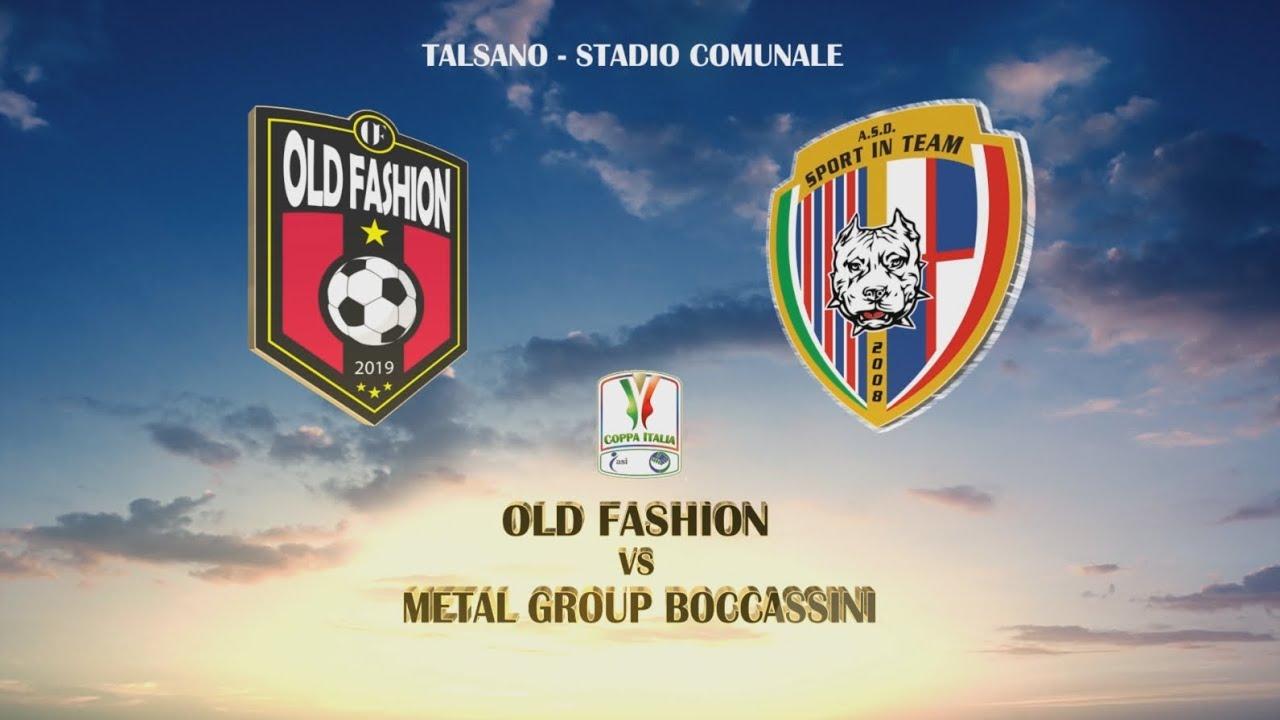 Coppa Italia ASI TA 2019/2020 - Old Fashion vs Metal Group Boccassini