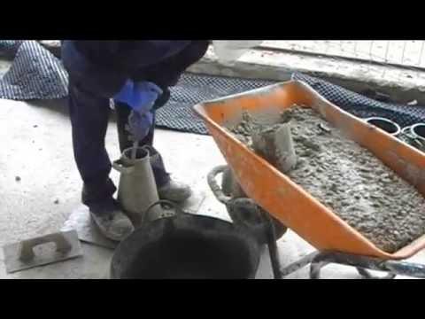Como se hace una probetas de hormigon youtube for Como se hace una piscina de hormigon