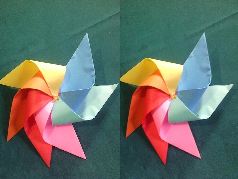 How To Make A Pinwheel That Spinsdiy Paper Crafts Youtube