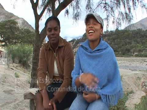 Ruggerio chota region Ecuador: bomba dance