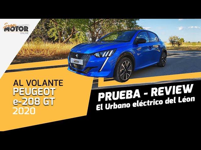 Al volante del Peugeot e-208 GT 2020 / Opiniones del e-208 GT / SuperMotor.Online / T5 - E32