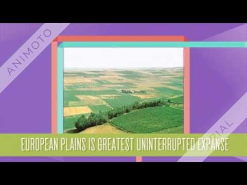 europe land forms