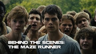 Behind The Scenes The Maze Runner | Making the Movies
