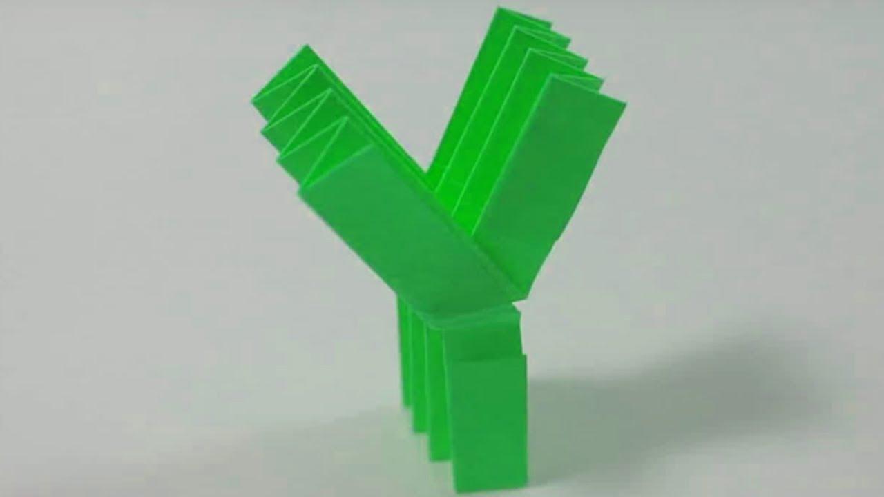 origami m harfi