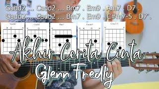 Chord Asli - Glenn Fredly - Akhir Cerita Cinta | NY Tutorial Gitar