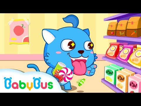 Baby Panda Supermarket | Animation & Kids Songs collection For Babies | BabyBus