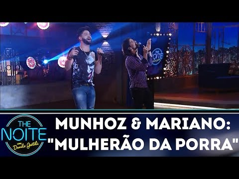 Munhoz & Mariano cantam