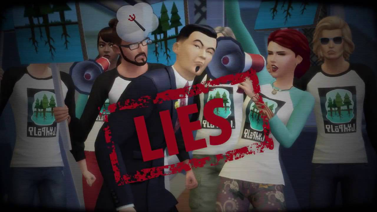 the sims city living political career clip the sims 4 city living political career clip