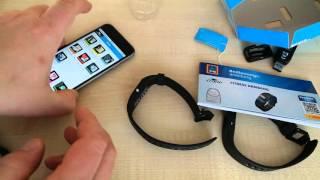 CRANE Fitness Armband (Aldi Süd) - Unboxing/erste Einrichtung