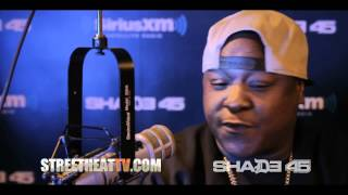 "Jadakiss ""Nightmares & Migraines"" In Studio Performance at Shade45 wit/ DJKaySlay"