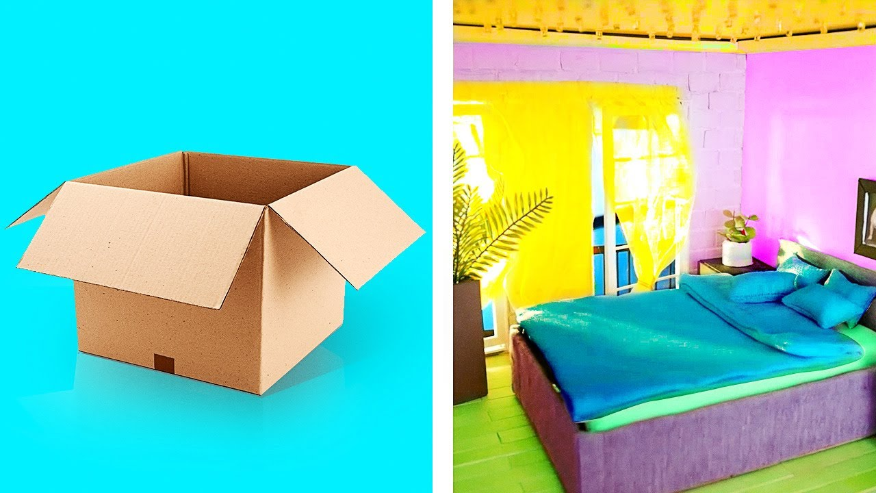 Clever Ways to Reuse Cardboard Boxes    Simple Storage Hacks And Crafts For Your Home!