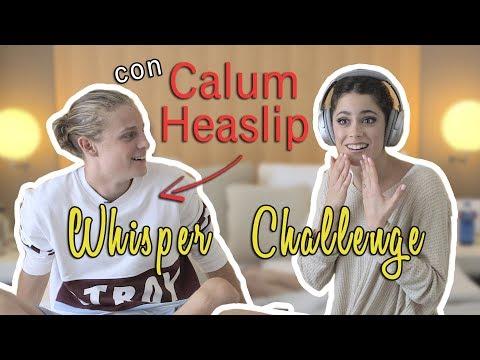 🙉 Whisper challenge con CALUM HEASLIP + sorpresa final 😱 #TiniYoutube | TINI