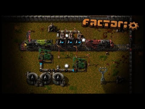 Trenzinho do Petróleo - Factorio