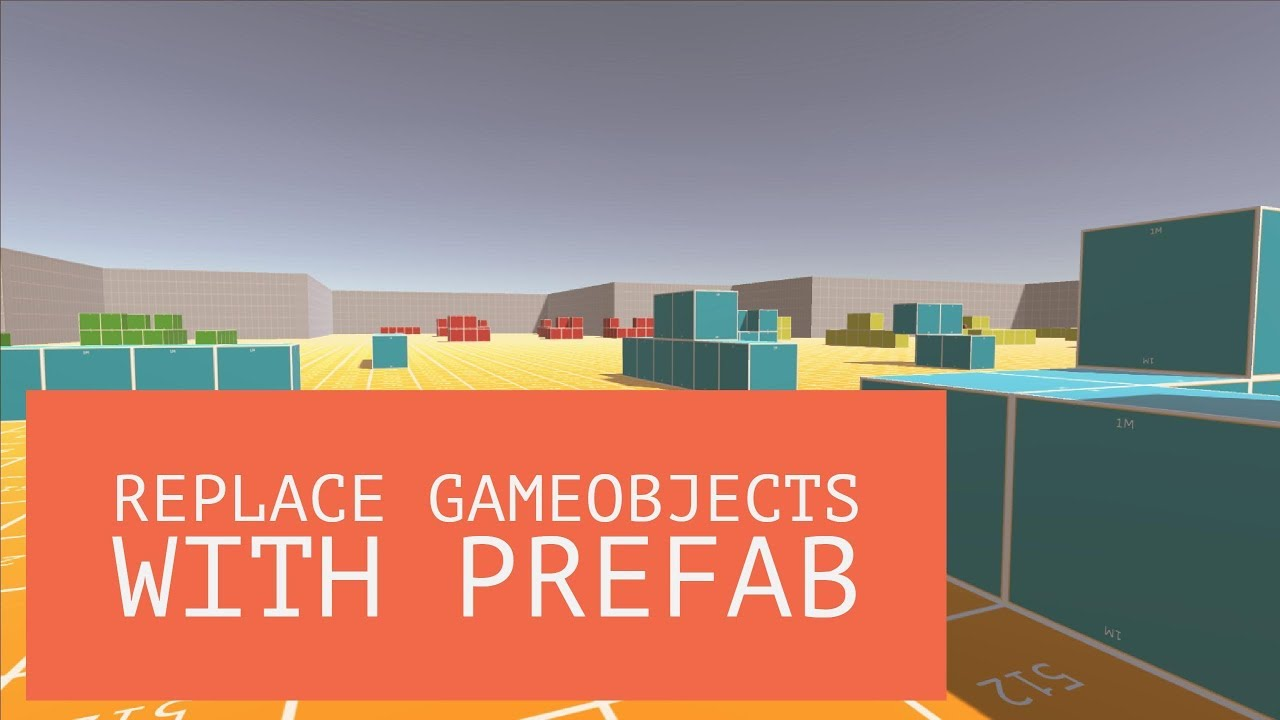 Unity3D Extension - Replace GameObjects and prefabs with another prefab