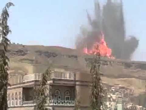 Rocket attack in Yemen