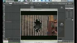 Урок по 3D MAX, а также Rayfire tool. Пробивание стены (Part 1)