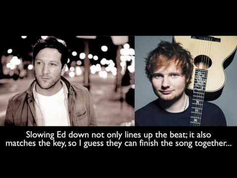 Sheeran vs CardleSideside + beatmatched mix