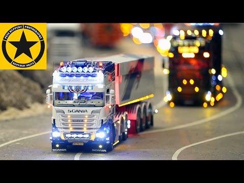 Toy Truck Videos For CHILDREN👍 MODEL-FAIR RC Exhibit Modellbaumesse ERFURT RC TRUCKS & EXCAVATORS