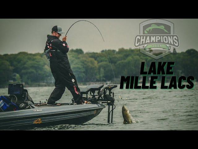 2021 Champions Tour on Lake Mille Lacs