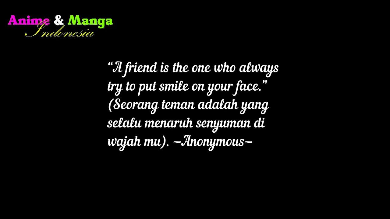 Kata2 Bijak Persahabatan Dalam Bahasa Inggris