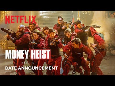 Money Heist: Part 5 | Date Announcement | Netflix