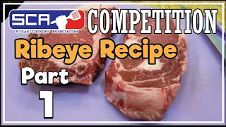 Part 1 Ribeye Steaks SCA Contest Recipe Texas How-To by Grand Champion Harry Soo SlapYoDaddyBBQ.com