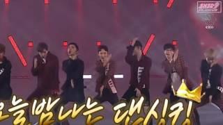 160917 [HD/Viewable] EXO 엑소 X Yoo JaeSuk 유재석-Dancing King (Full Debut Stage Ver.) @ SM STATION X I-C
