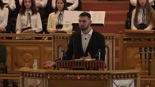 """25.02.2018 (вечір) - Служіння молодіжного хору з рівненської церкви """"Відродження"""""""