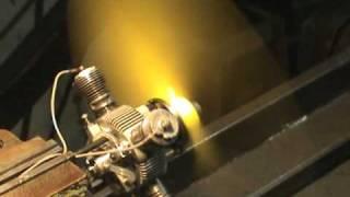 Motor Radial 2 Tempos 4 cilindros .196 cub inch