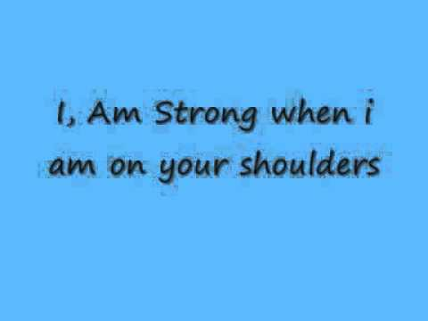 You raise me up - Celtic Woman Lyrics