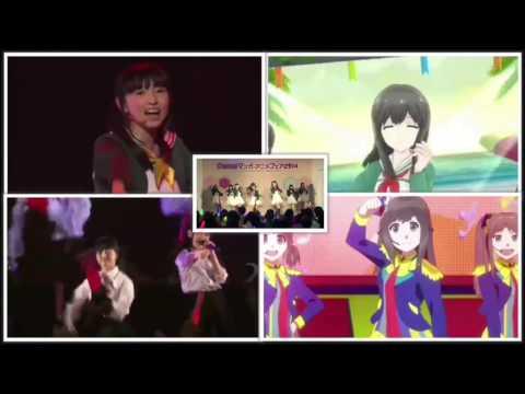 7girls war ダンス比較