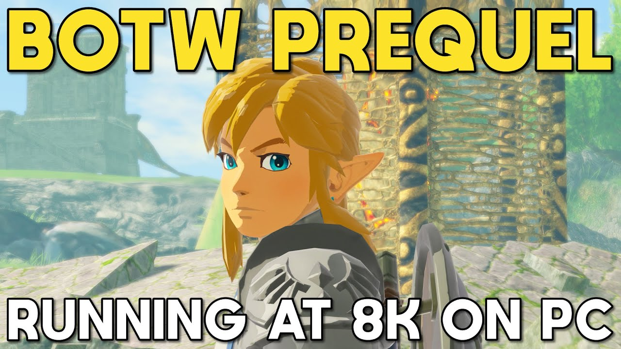 Hyrule Warriors Age Of Calamity Running At 8k On Pc Youtube