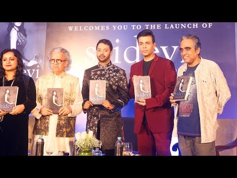 Sridevi: The Eternal Screen Goddess Book Launch |  Karan Johar, Satyarth Nayak