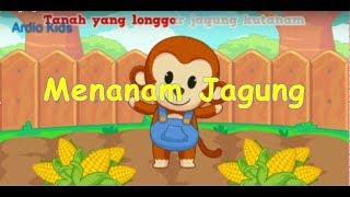 Lagu Cangkul Yang Dalam  (Menanam Jagung ) Lagu Anak TK