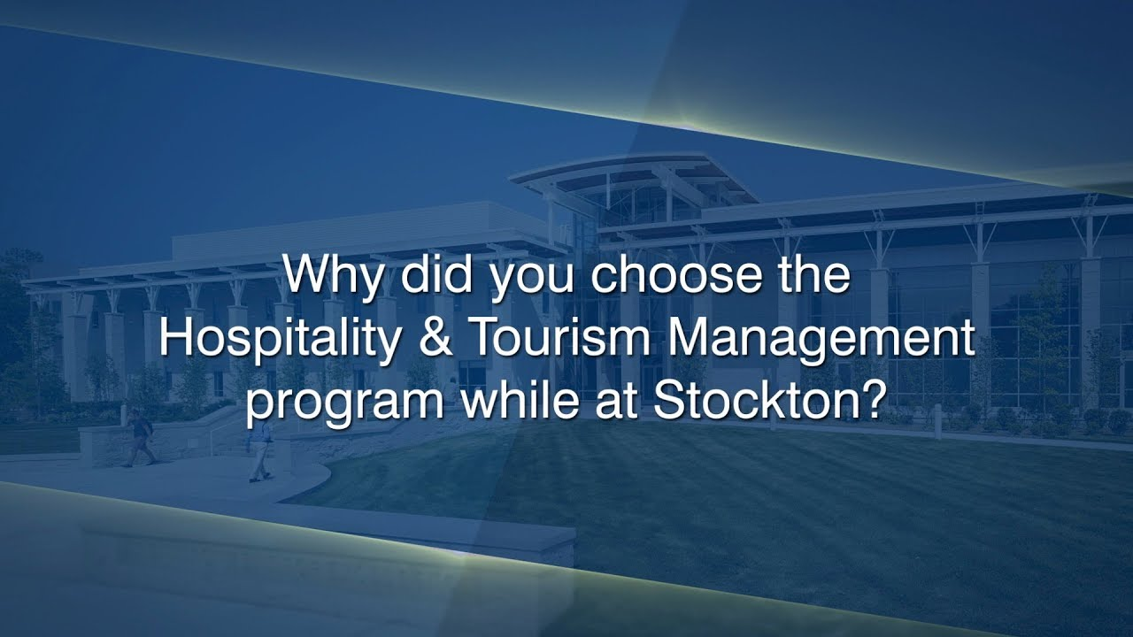 Hospitality and Tourism Management Studies - School of