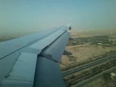 Air Arabia landing in (SHJ) sharjah international airport