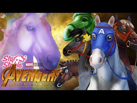 The AVENGERS as HORSES! (Infinity War x Star Stable Online)