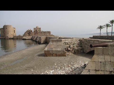 Lebanon -  Sidon ( Saida ) Old town ,  part 1