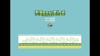 retrodemoscene plays flappy bird c64 game