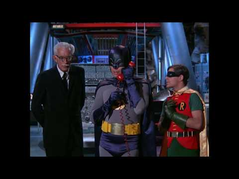David Hedison calling Batman