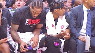 Kawhi Leonard Checks His Robotic Setting After Terminating The Magic 32 Points! Clippers vs Magic