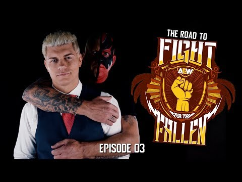 AEW - Road to Fight for the Fallen - Episode 03