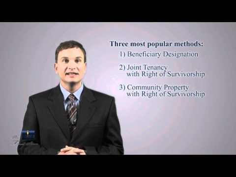 The Three Most Popular Methods to Avoid a California Probate Without a Trust