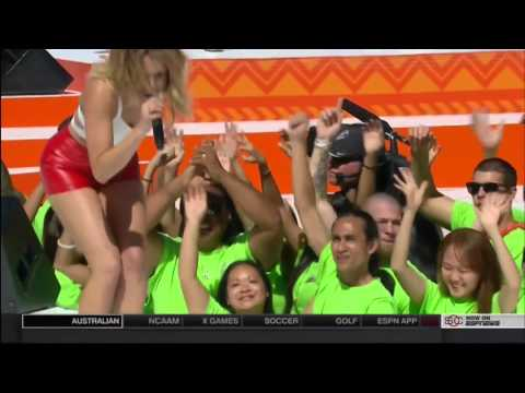 Rachel Platten - Stand By You & Fight Song (Pro Bowl)