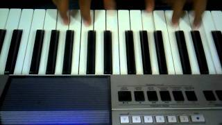 Janaganamana National anthem in keyboard with chords by Sri veenavani Gireesh